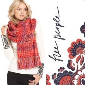 Free People • chunky knit scarf